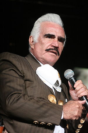 Vicente Fernández - Fernández at Pepsi Center on June 11, 2011.