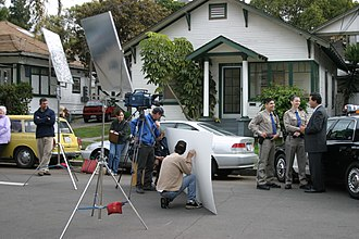 Video production - Video Production of a Political Commercial, San Diego, California, 2004
