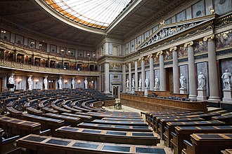 Imperial Council (Austria) - Debating chamber of the House of Deputies