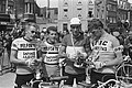 Vier Hollanders in de Tour Jan Janssen, Dick Enthoven, Ab Geldermans en Huub Zi, Bestanddeelnr 915-3092.jpg