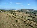 View along the Purbeck limestone ridge - geograph.org.uk - 1632859.jpg