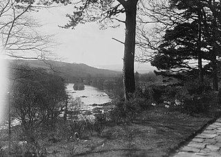 View from Graig Fawr, Builth Wells