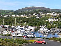 View of Marina from Kincora Hall Hotel, Killaloe - geograph.org.uk - 1170342