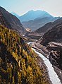 View of hunza river from Altit Fort.jpg