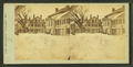 View of residential houses after a snow storm, by Carl Meinerth.png