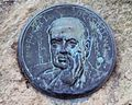 Vigo, Praza de Compostela, Rubén Darío.JPG