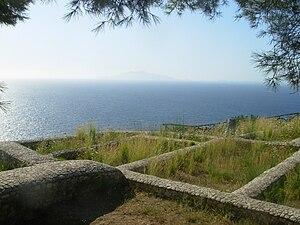 History of Capri - Ruins of Villa Damecuta
