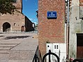 Villefranche-de-Lauragais - Plaque rue des Prêtres.jpg