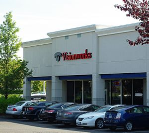 Visionworks of America - A Visionworks location in a strip mall in Hillsboro, Oregon