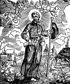 Himelin Scottish priest and saint