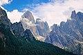 Vista delle Pale di S.Martino dal Parco naturale di Paneveggio.jpg