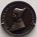 Vittore di antonio gambello, medaglia bronzea del doge leonardo loredan.JPG