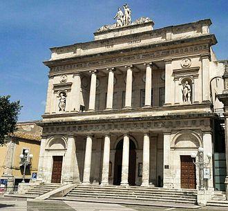 Vittoria, Sicily - Image: Vittoria Teatro Comunale