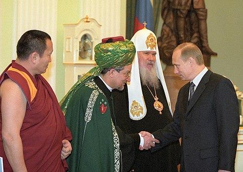Vladimir Putin 21 February 2001-2