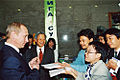 Vladimir Putin in Vietnam 1-2 March 2001-24.jpg