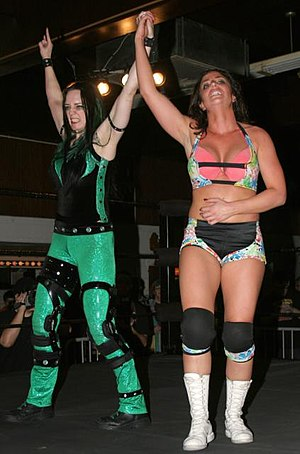 Serena Deeb - Deeb failed to win the Shimmer Championship, but earned the respect of champion MsChif.