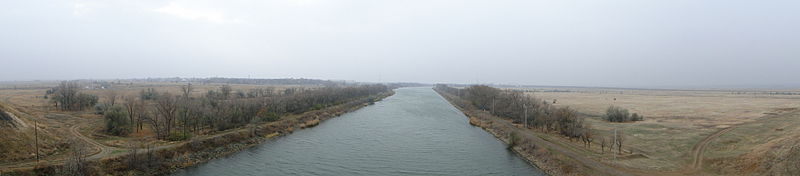 Panorama of the canal - Volga–Don Canal