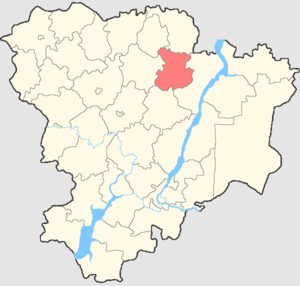 Kotovsky District - Image: Volgogradskaya oblast Kotovsky rayon