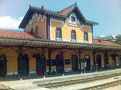 Volos rail station