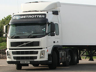 Volvo FM - Volvo FM with Globetrotter cab