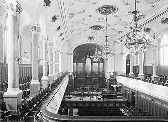 University of Music and Theatre Leipzig - College Hall 1900