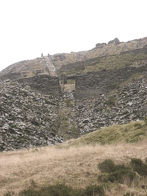 Votty & Bowydd Quarry - Image: Votty & Bowydd inclines