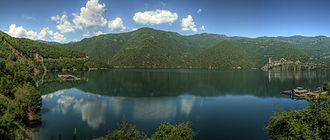 Rhodope Mountains - Vacha Reservoir.