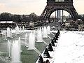 Vue sur la Tour Eiffel , Eiffel Tower in Paris France 9.JPG
