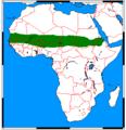 Vulpes pallida range map.png