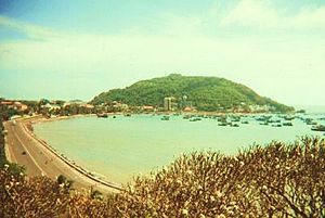 view on city of Vung Tau Vietnam