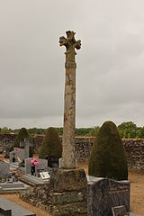 croix de cimetière de Villedieu-la-Blouère