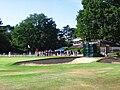WBO2008 Greenside bunkers of the 18th green.jpg