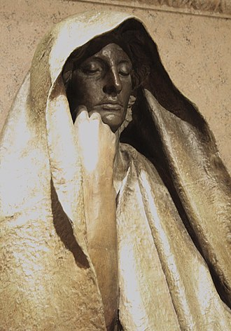 Henry Adams - Adams Memorial modeled 1886-1891, cast 1969 Augustus Saint-Gaudens