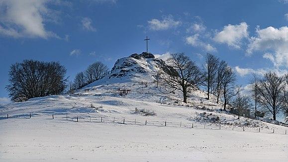 Wachtküppel in the Rhoen Mountains