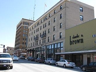 Fort Dodge, Iowa - Image: Wahkonsa Hotel