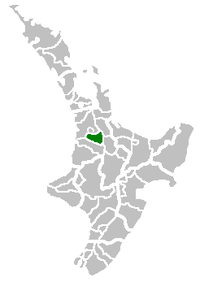 Location of Waipa District