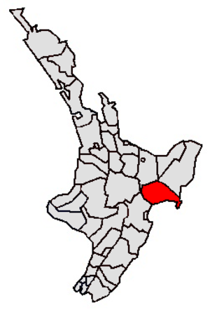 Wairoa - Image: Wairoa DC
