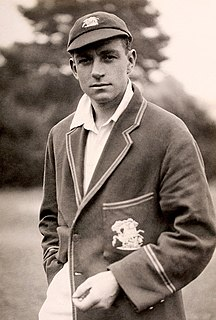 Wally Hammond English cricket player