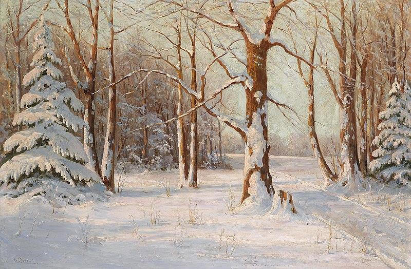 File:Walter Moras - Winterwald.jpg