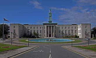Waltham Forest Town Hall - Image: Walthamstow Town Hall (geograph 3019393)