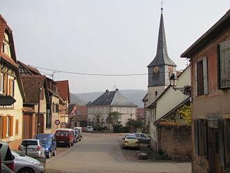 Wangen, Bas-Rhin - Image: Wangen 03