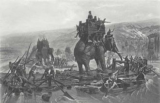 3rd century BC - Hannibal Crosses the Alps during the Second Punic War
