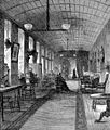 Ward in the Bethlem Hospital about 1745. Wellcome M0017217.jpg