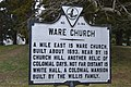 Ware Church historical marker.jpg