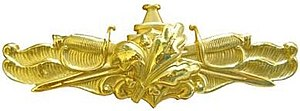 Surface warfare insignia - Surface Warfare Supply Corps Officer Insignia