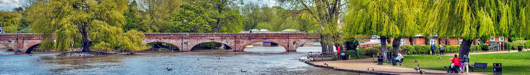 Tramway Bridge over the River Avon at Stratford-upon-Avon