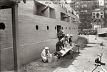 Wash Day on USS Recruit in Union Square NYC 1917.jpg