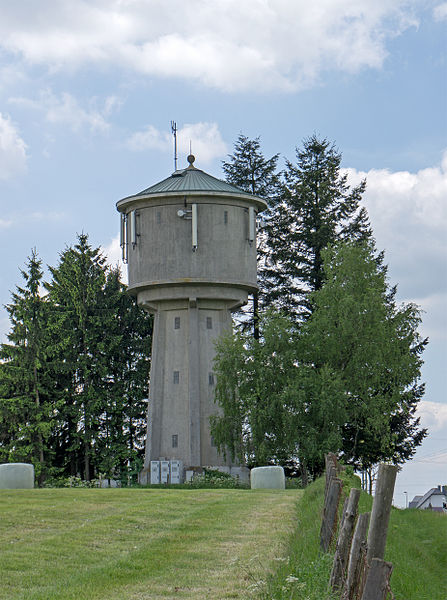 Water tower of Perlé, Luxembourg