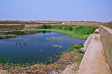 Water reserve in Chan Chan