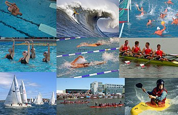 List of water sports - Wikipedia, the free encyclopedia